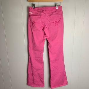 Vintage Jordache Pink Lo-Rise Stretch Jeans-5/6
